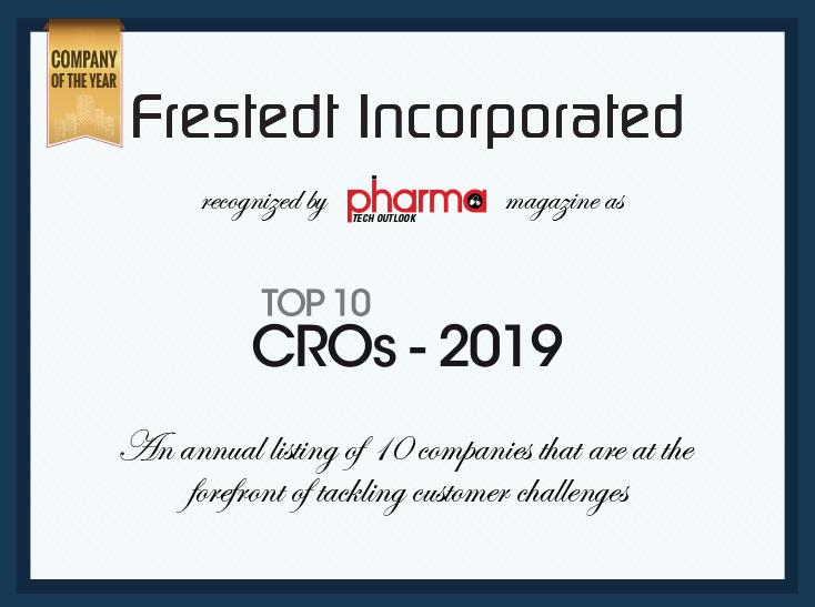 Top 10 CROs-2019 award