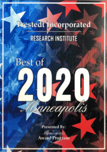 Award for Best of 2020 Minneapolis: Research Institute